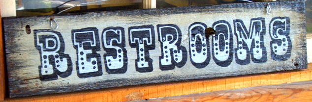 Custom Western Town Style Painted Signs By Holly Vintage
