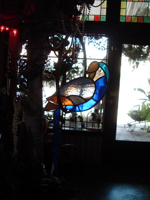 photo of stained glass products in Candys Shop in Calvert