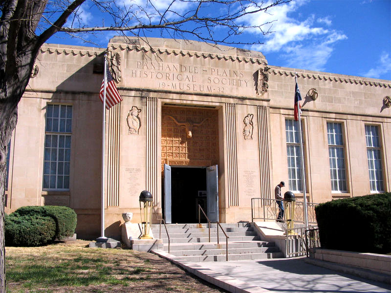 Photo of Panhandle Plains Museum in Canyon near Amarillo Texas